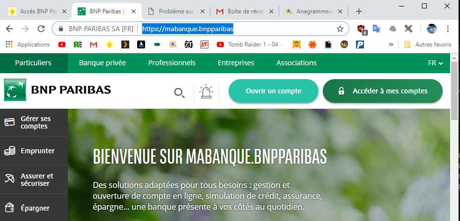 Acces Bnp Paribas Impossible Net Et Mobile 031218
