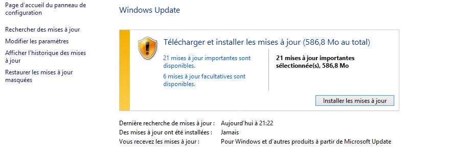 Mises A Jour Windows Ne S Installent Pas