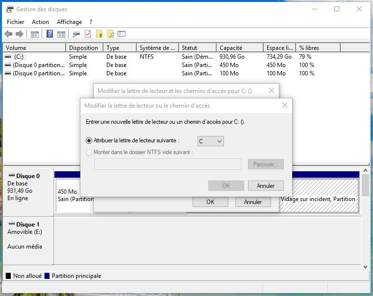 changer le dossier d'installation par défaut c programmes fichiers windows 8
