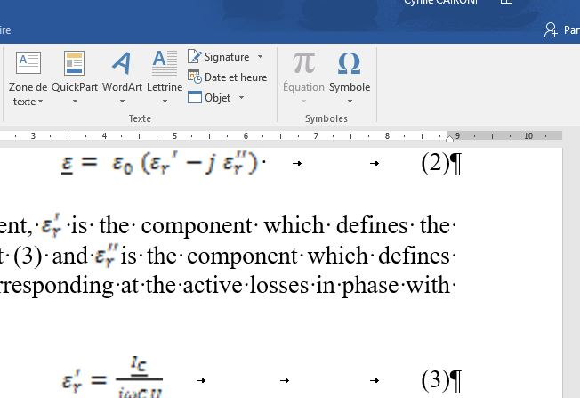 Activation Editeur D Equation
