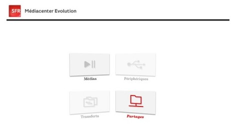 mediacenter sfr evolution