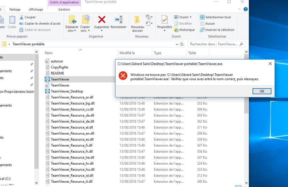 TeamViewer ne fonctionne plus