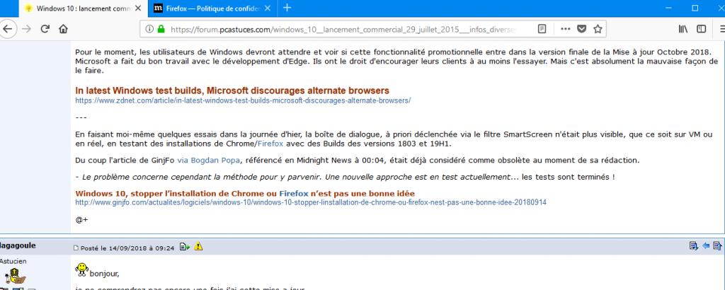 Windows 10 : lancement commercial 29 Juillet 2015 - infos diverses