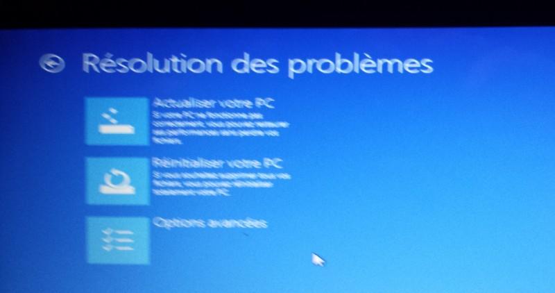 La Restauration Windows Ne Fonctionne Pas