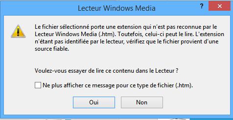 erreur c00d1199 du lecteur windows media