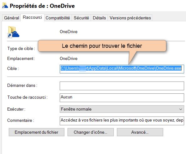Onedrive windows 10 a disparu de la liste des applis cran de d marrage - Raccourci bureau disparu ...