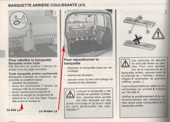 les mieux notés dernier bons plans sur la mode les clients d'abord Question à possesseur d'une Renault Grand Modus ?