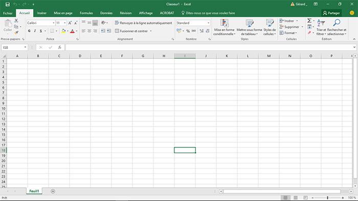 Pas De Quadrillage Visible Dans Excel
