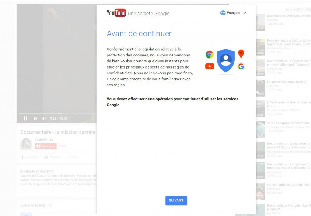 Google Fait Suer