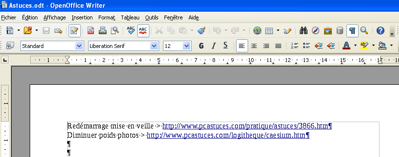 Openoffice supprimer page blanche - Realiser un organigramme open office ...