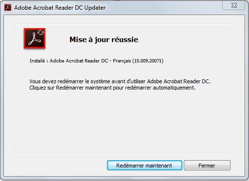 mise a jour de Adobe Acrobat Reader DC - forum.pcastuces.com