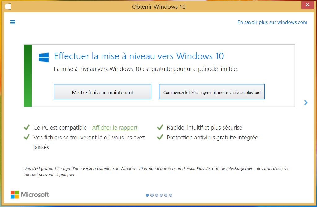 Fen tre windows 10 for Affichage fenetre miniature windows 7
