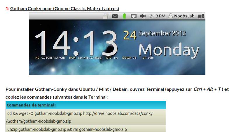 Ameliorer Le Bureau De Xubuntu