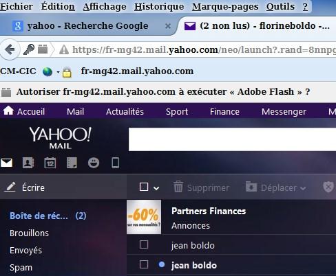 Raccourci Bureau Pour Yahoo Mail : Mail yahoo demande code de sécurité