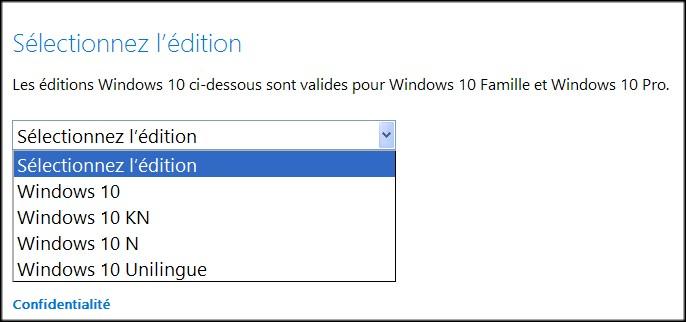 windows 10 famille unilingue