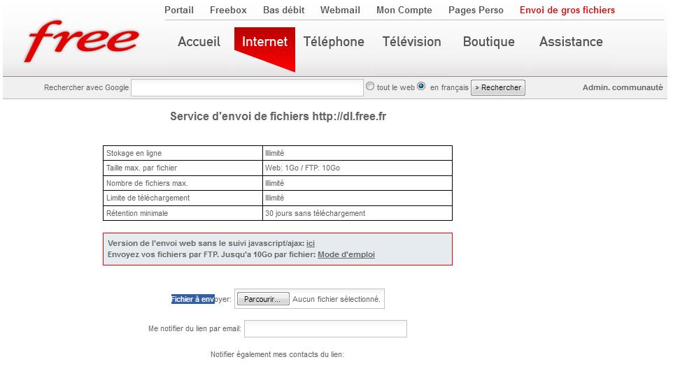 comment ouvrir un fichier dl free fr